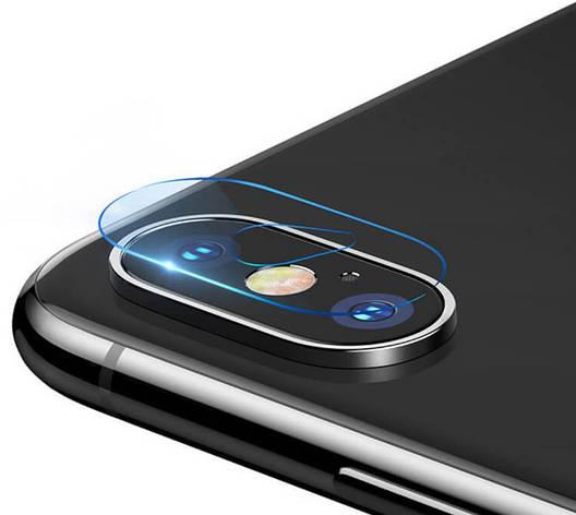 Захисне скло NZY для камери Apple iPhone XS MAX Прозоре (001986), фото 2