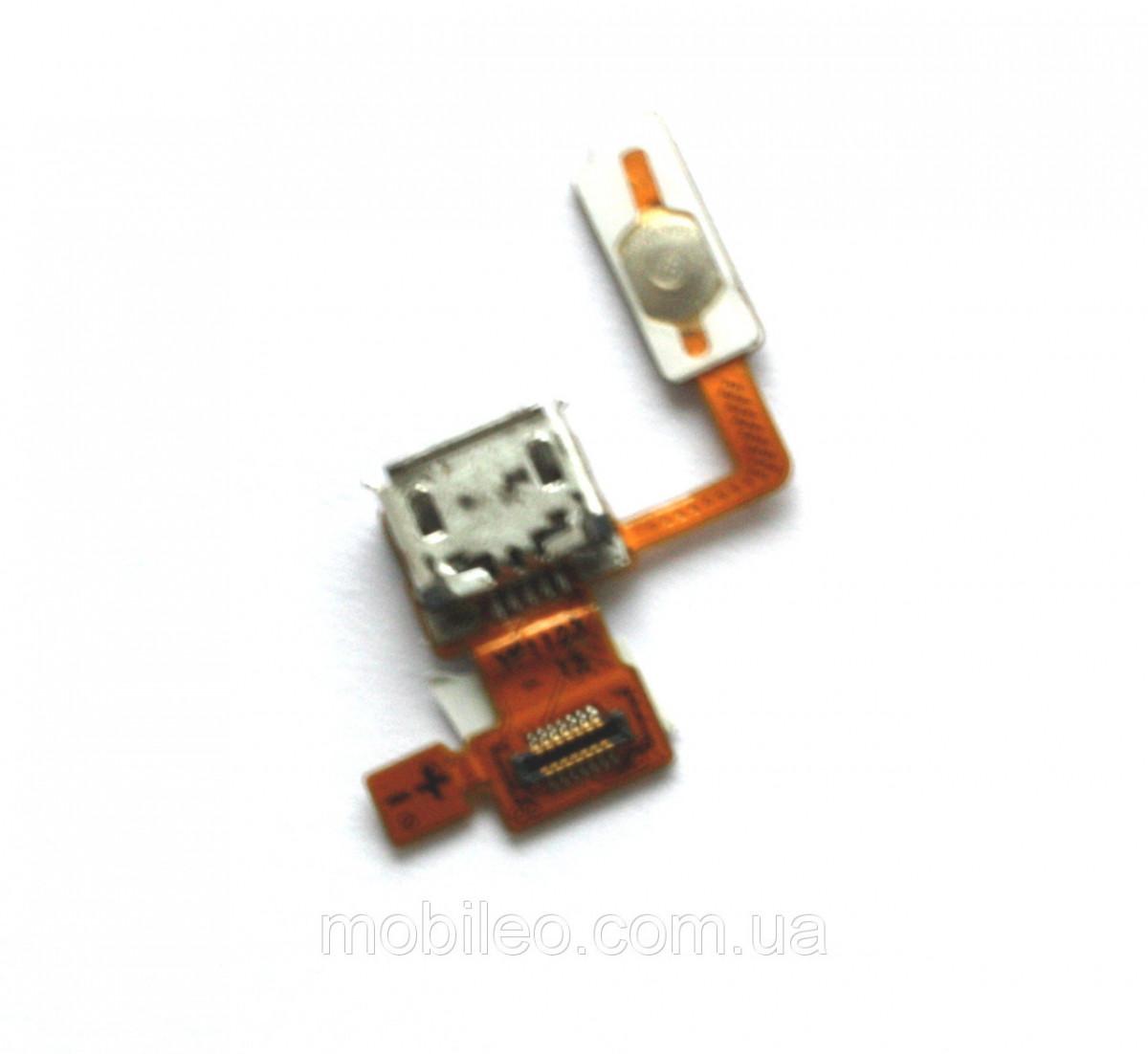 Плата зарядки для LG P970 Optimus с разъемом зарядки, микрофоном и компонентами