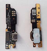 Плата нижняя (плата зарядки) Meizu M3 Note (L681H) v3.0 с разъемом зарядки и компонентами
