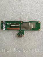 Плата нижняя (плата зарядки) планшет Asus Nexus 7 II (2013) ME571K с разъемом зарядки и компонентами
