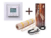 Нагревательный мат Fenix LDTS обогрев (0.8 м2) с Программируемым терморегулятором VEGA LTC 070 (Премиум)
