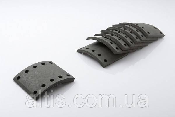 Накладки тормозные 420x150x21,2 DAF EURO2 65CF, 75CF, 85CF, 95XF, DB250, F55, F65, F75, F85, F95, F1900