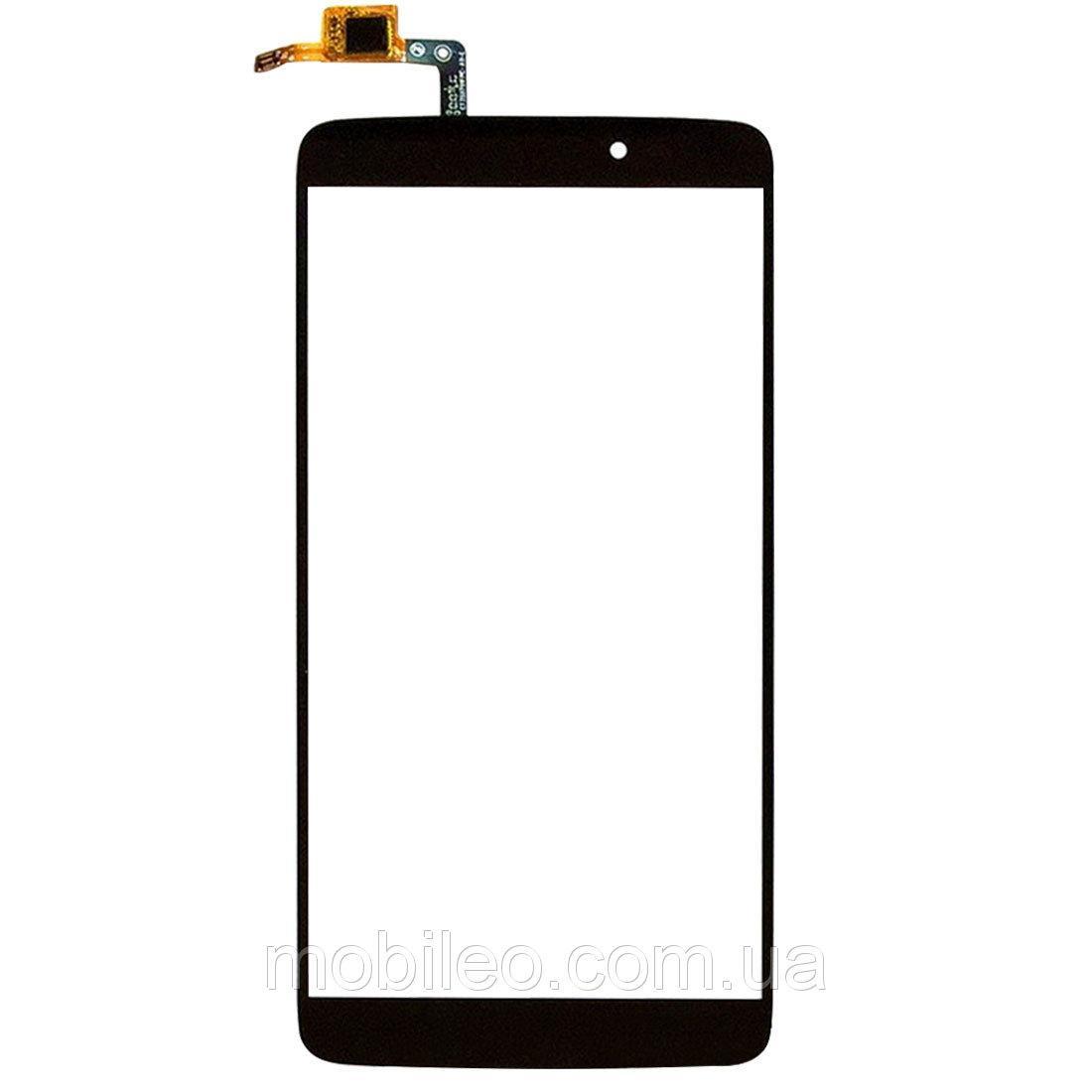 Сенсорный экран (тачскрин) Alcatel 6045I One Touch Idol 3 black