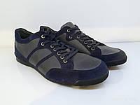 Кроссовки Etor 8443-13806-1106-0264 42 серо-синие, фото 1