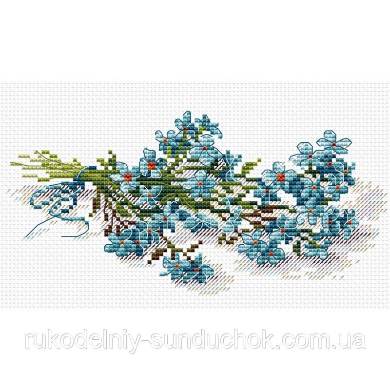 Набор для вышивки крестом МП Студия Цветочное очарование М-118