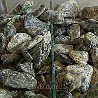 "Галька мраморная ""Изумрудный Остров"" KLVIV, фр. 2-4см. (Меш.10 кг), фото 1"