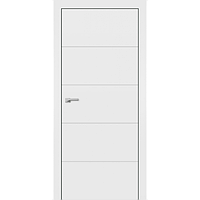 Фарбовані двері модель F-3. Полотно+коробка+1к-т лиштв, зрощений брус сосни