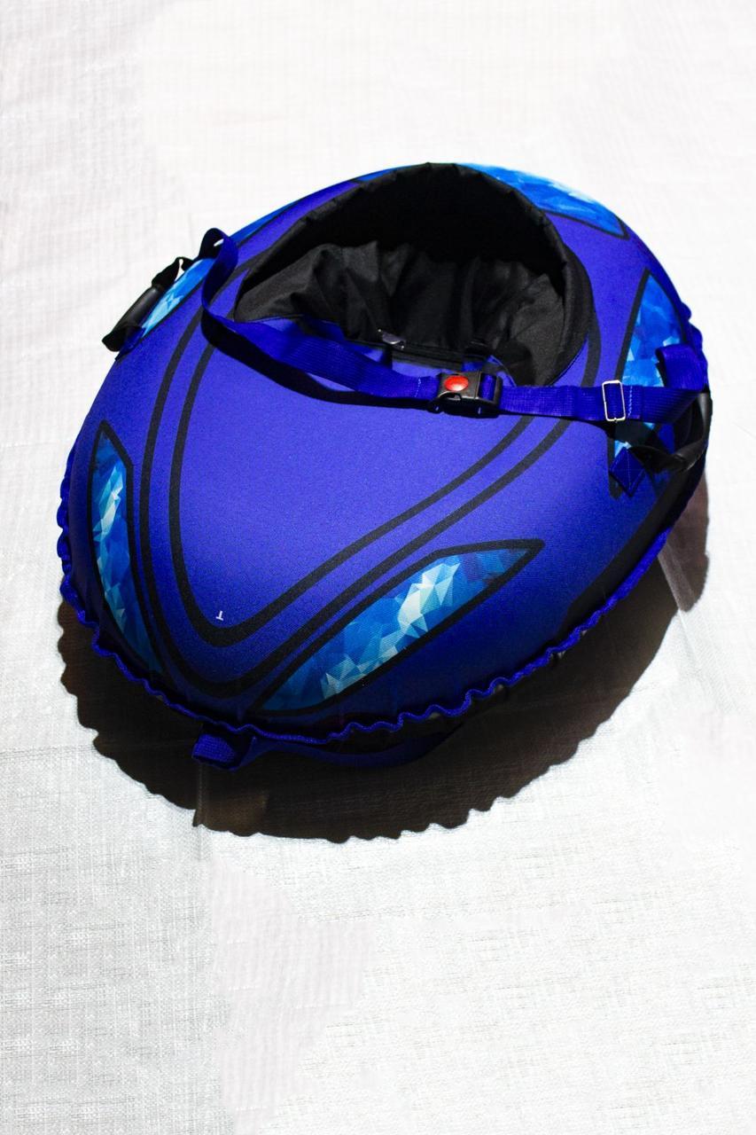 Тюбинг детский Машинка, 106х86, до 150 кг, съемный чехол