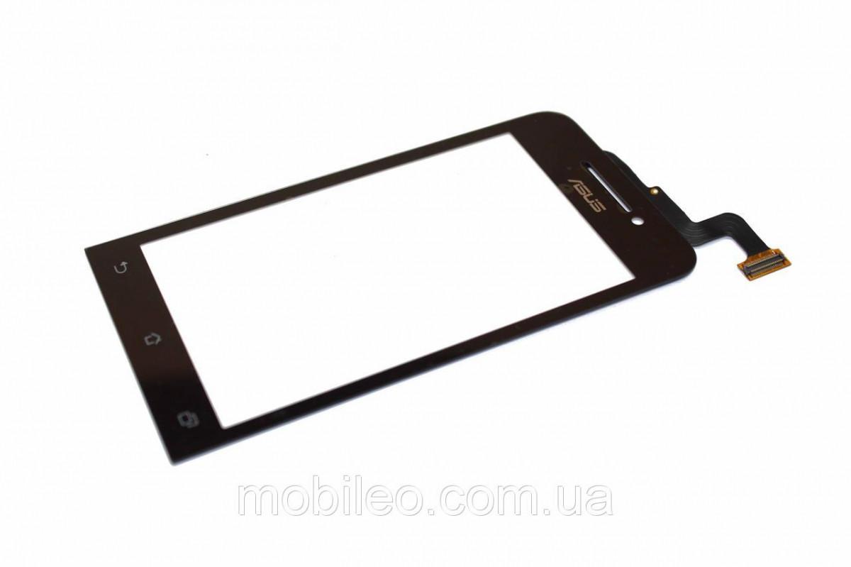 Сенсорный экран (тачскрин) Asus ZenFone 4 A400 чёрный