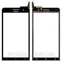 Сенсорный экран (тачскрин) Asus ZenFone 6 A600CG чёрный