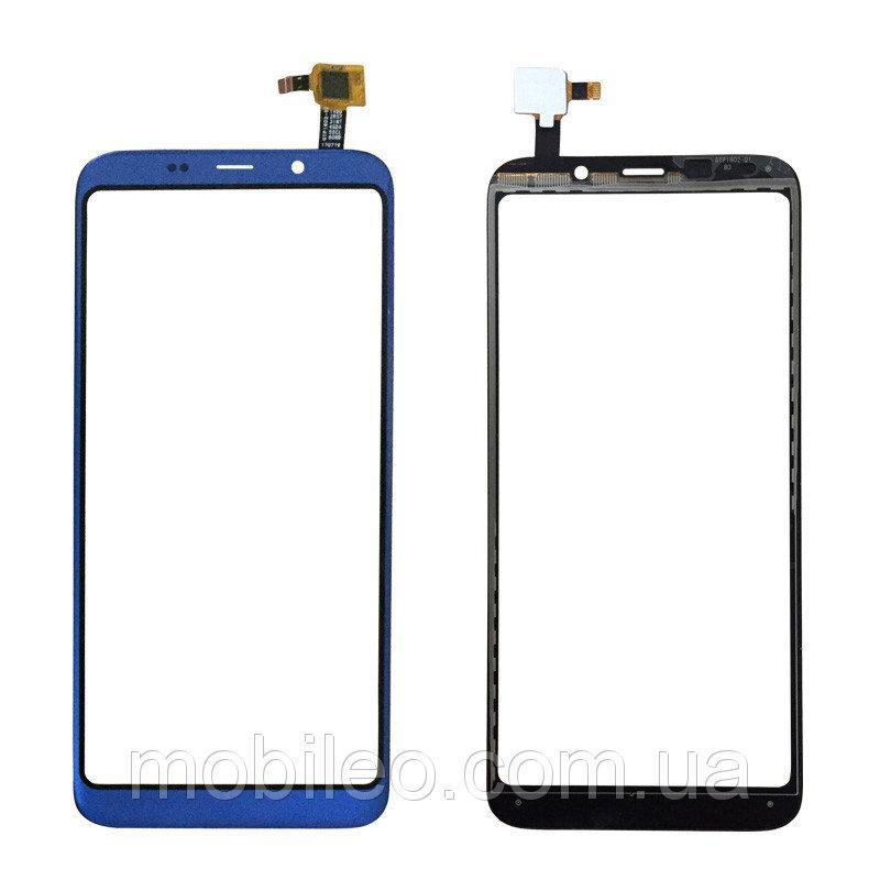Сенсорный экран (тачскрин) Bluboo S8 синий