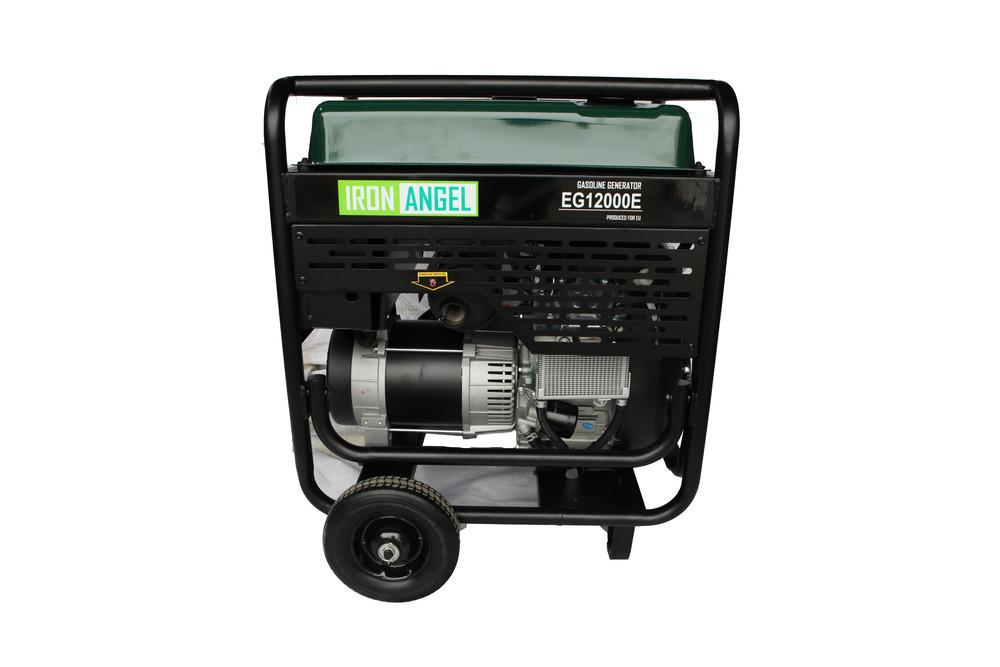 Генератор бензиновый Iron Angel EG12000E ATS (11кВт)