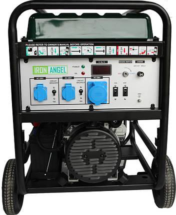Генератор бензиновый Iron Angel EG12000E ATS (11кВт), фото 2