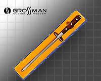 Мусат для заточки кухонных ножей GROSSMAN 180 В, точилка для ножа, алмазные точилки, ножеточка, мусат