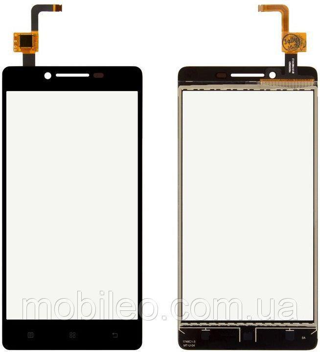 Сенсорный экран (тачскрин) Lenovo A6010 K3 чёрный