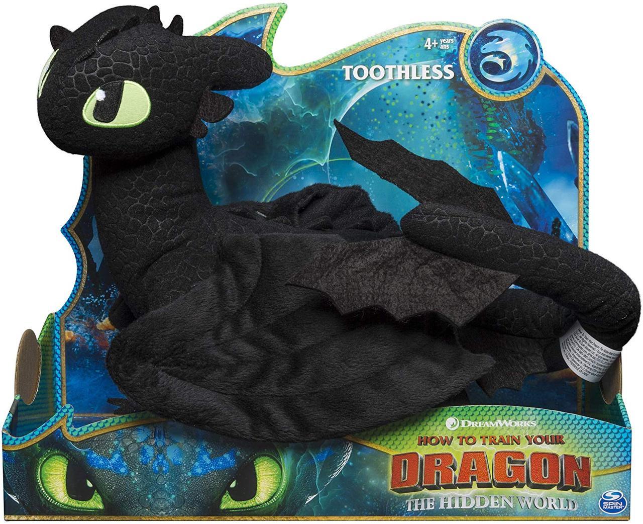 Дракон Беззубик мягкая игрушка 35 см Как приручить драконаDreamworks Dragon. Оригинал из США, фото 1