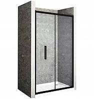 Двері для душа Rapid Fold 100 BLACK, фото 1