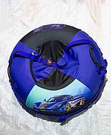 Тюбинг детский Машинка, 90 см, до 150 кг, съемный чехол, фото 1