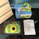 Дитячий фотоапарат, Kids Camera c дисплеєм, дитяча фотокамера, Зелена, фото 3