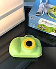 Дитячий фотоапарат, Kids Camera c дисплеєм, дитяча фотокамера, Зелена, фото 4