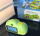Дитячий фотоапарат, Kids Camera c дисплеєм, дитяча фотокамера, Зелена, фото 8