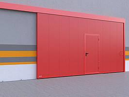 Откатные противопожарные ворота DoorHan с классом огнестойкости EI60, EI90