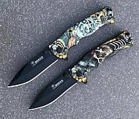 Складной полуавтоматический нож Totem B048 с принтом, фото 1