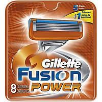 Сменные картриджи для бритья Gillette Fusion Power 8 шт