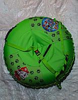 Тюбинг детский Щенячий патруль, 90 см, до 150 кг, съемный чехол, фото 1