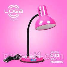 Лампа настольная L-13 Малина***