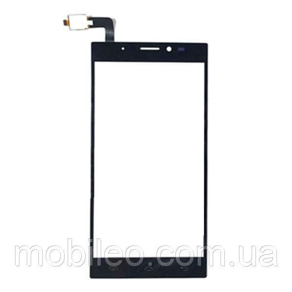 Сенсорный экран (тачскрин) Doogee F5 чёрный
