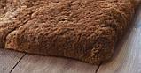 Ковер из натурального мягкого коричневого меха Альпаки купить в Одессе, фото 2