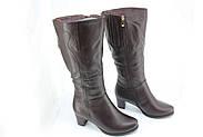 Коричневі жіночі чоботи Battine M1470, фото 2