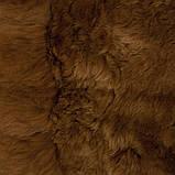 Ковер из натурального мягкого коричневого меха Альпаки купить в Одессе, фото 3