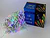 Светодиодная внутренняя гирлянда прозрачный шнур Xmas Led 300 B-1 21 метр мультиколор R190355, фото 3