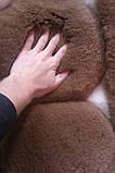 Ковер из натурального мягкого коричневого меха Альпаки купить в Одессе, фото 4