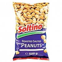Cоленый жареный арахис, Soltino 500г