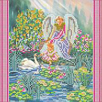 """Схема для вышивания бисером на художественном холсте """"Райский сад"""""""