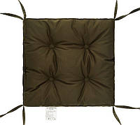 "Мягкая подушка на стул (хаки) 40х40х5 ""COLOR"" тм DOTINEM"