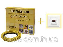 Нагревательный кабель In-Therm 2330w (116 метров) + цифровой регулятор