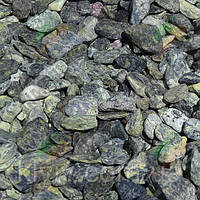 "Галька мраморная ""Изумрудный Остров"" KLVIV, фр. 1-2 см./Меш.25 кг"