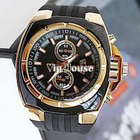Кварцевые спортивные часы бизнес часы V6 Golden
