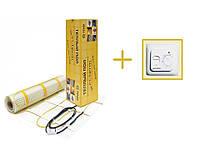 Нагревательный мат In-Therm 1300w (6,4 м.кв.) + механический регулятор в подарок