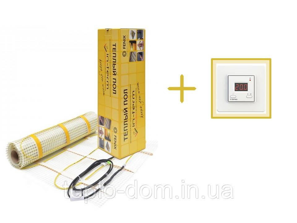 Нагревательный мат In-Therm 1850w (9,2 м.кв.) + цифровой регулятор в подарок