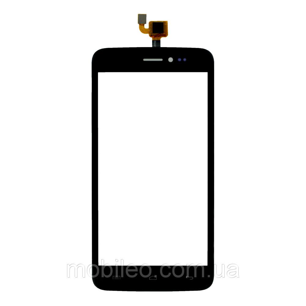 Сенсорный экран (тачскрин) Explay Five чёрный