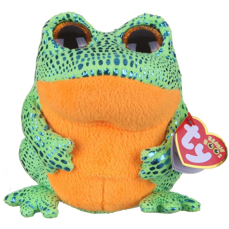 Мягкая игрушка лягушонок Speckles