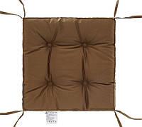 "Мягкая подушка ""COLOR"" на стул (капучино) 40х40х5 тм DOTINEM"
