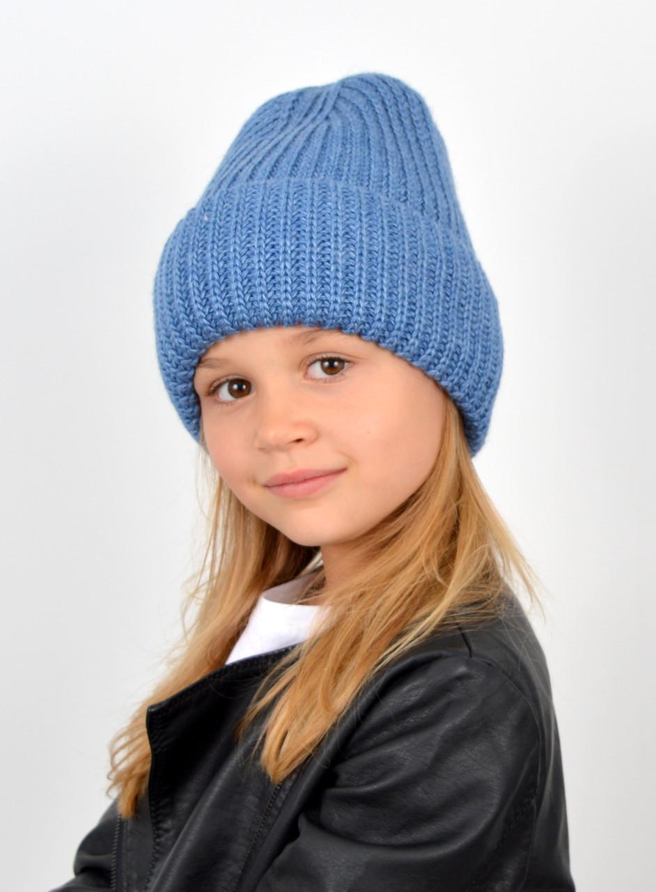Детские вязаные шапки оптом