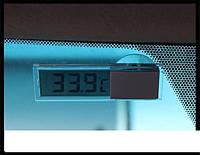 Электронный термометр на лобовое стекло автомобиля