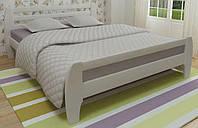 Кровать деревянная Милан 140х200 Mebigrand сосна белая